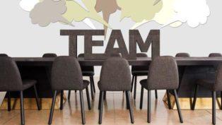 チームで会議・喧々諤々