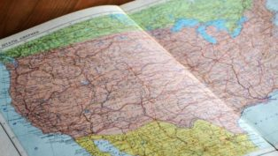 北米のNAFTA構成3カ国、アメリカ、カナダ、メキシコ