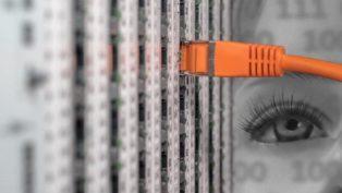 コンピュータネットワークのイメージ