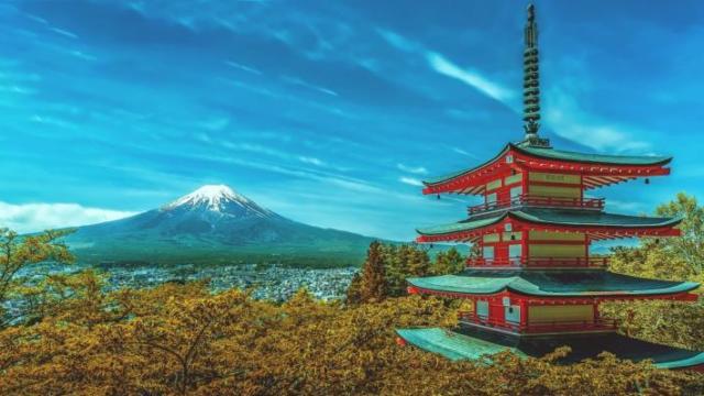 日本のイメージ富士山
